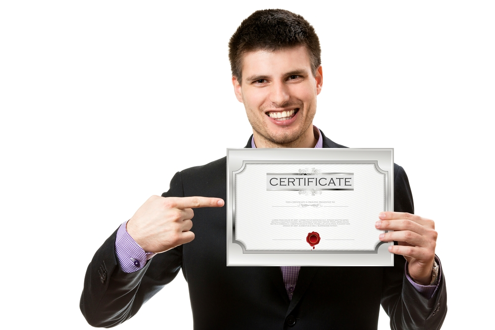 Guy with a Certificate